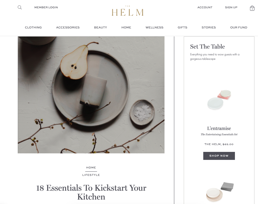 Convictional Marketplace - The Helm - Content Commerce