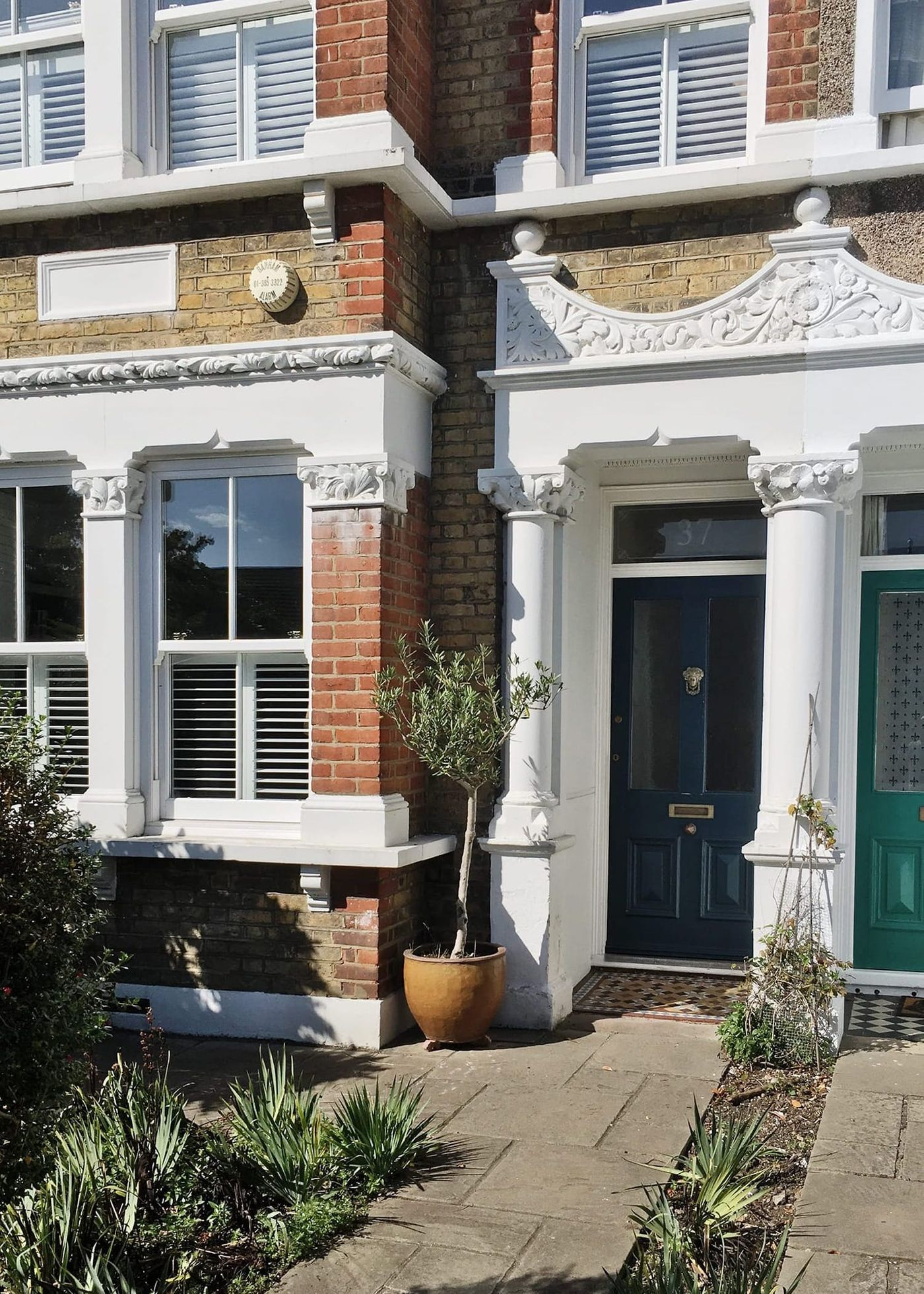 View towards front door of the property at Northbrook Road, London which From Works are designing a new loft conversion and rear dormer extension.