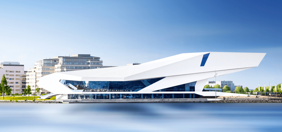 Most main events will happen at the EYE Filmmuseum in Amsterdam Noord.