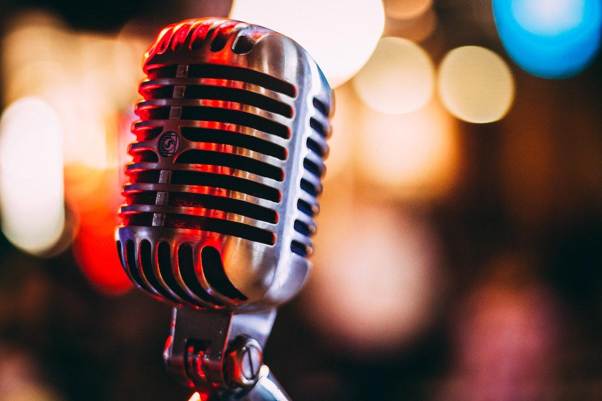 Microphone - Photo by israel palacio on Unsplash