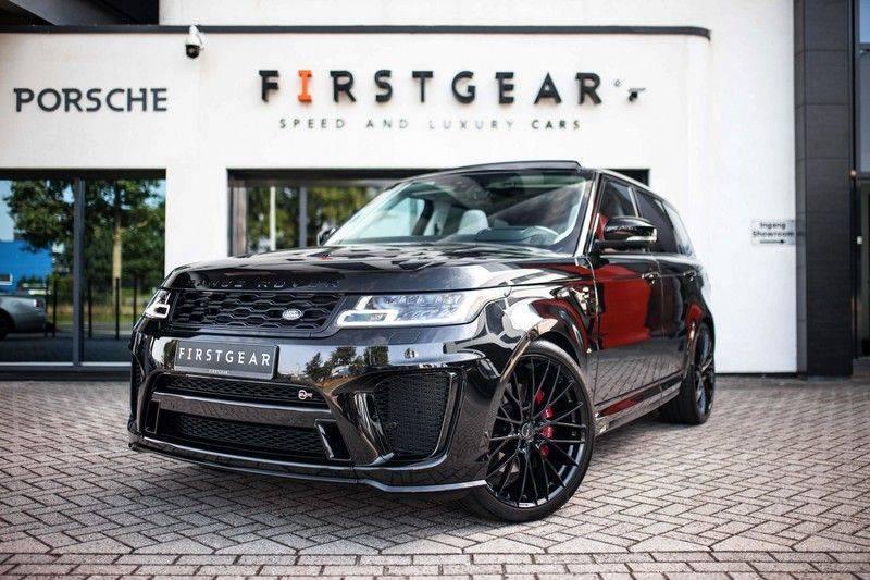 Land Rover Range Rover Sport P575 SVR *Pano / Meridian / Standkachel / HUD / ACC / Pixel-LED* afbeelding 1