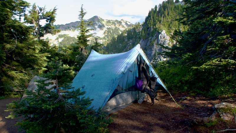 Gravity's Zpacks Duplex Tent on the PCT