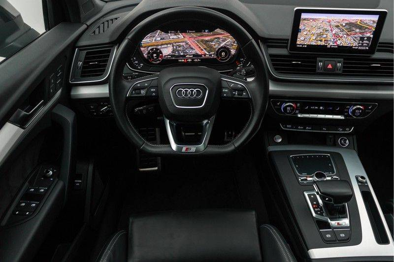 "Audi SQ5 3.0 TDI 347pk Quattro Black Edition Panoramadak Luchtvering Valconaleder B&O Keyless ACC Navi-High Matrix Camera 21""Performance Pdc Verlengde fabrieksgarantie afbeelding 3"