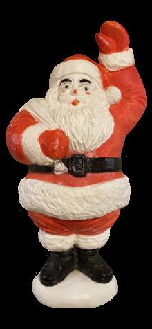 Waving Santa photo