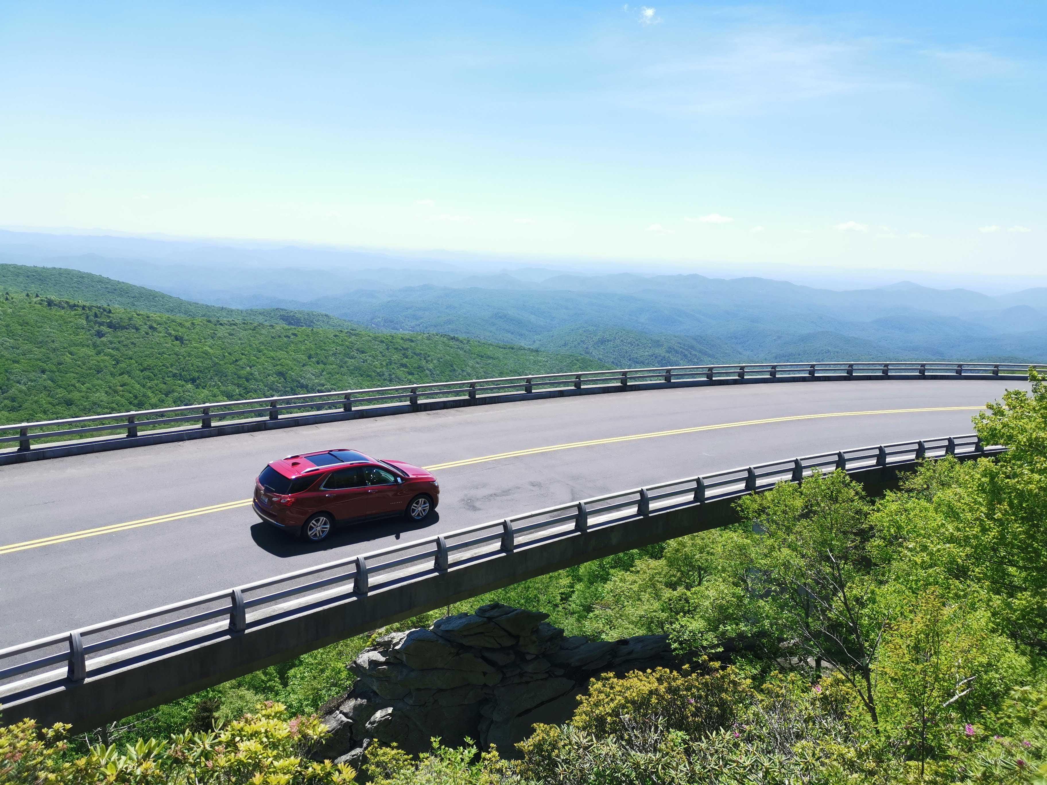 Les 750km de la Blue Ridge Parkway cover image