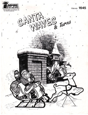 Empire Animated Santa, Sleigh & Reindeer #1645 Instruction Manual preview