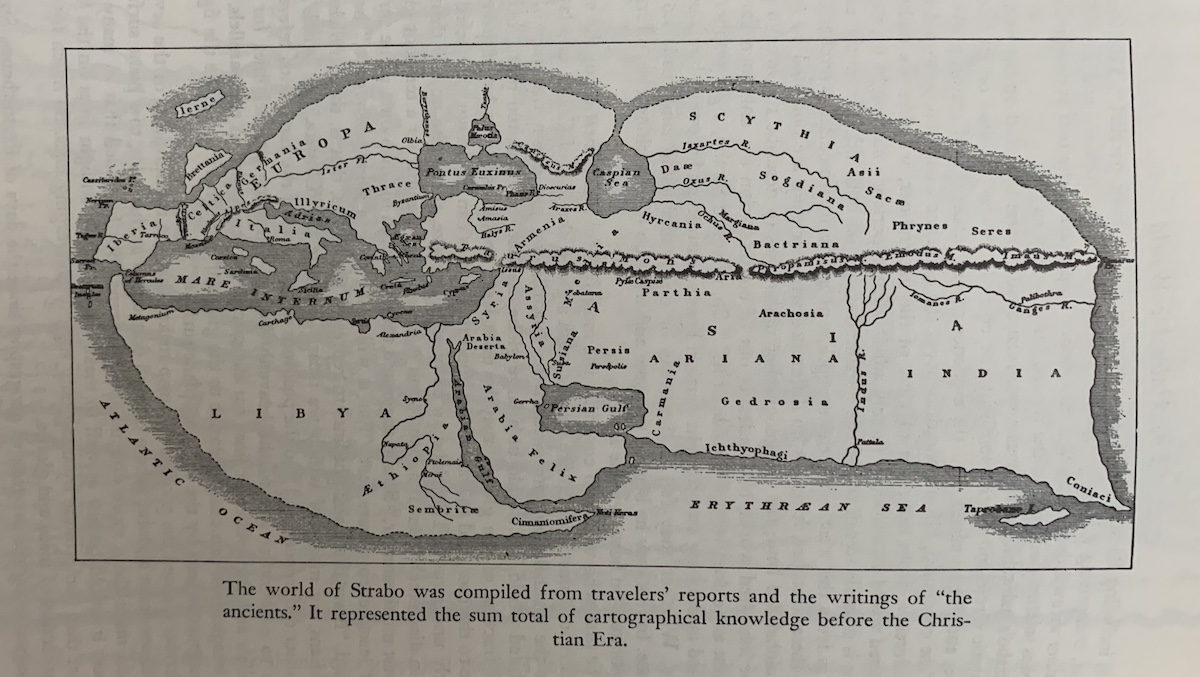 The world according to Strabo