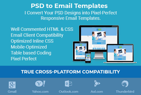 psd to responsive email html