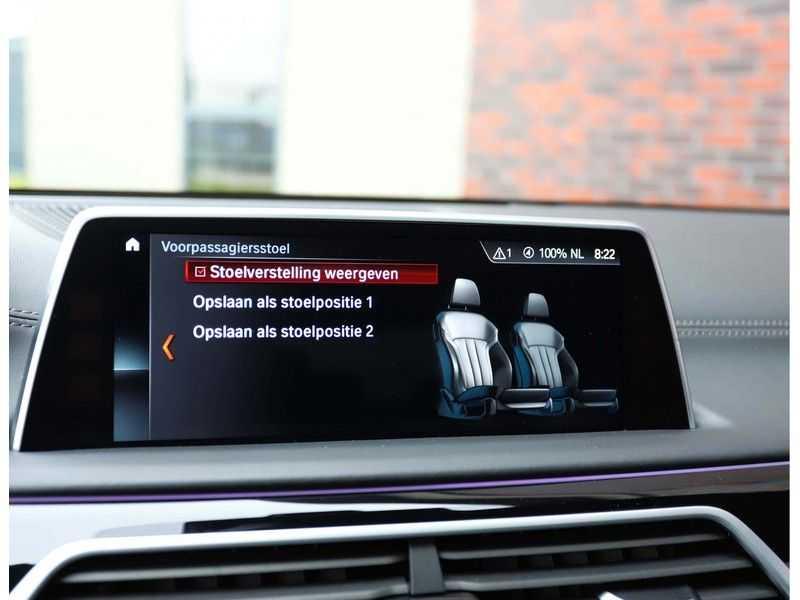 BMW 7 Serie 750d xDrive *M-sport*Head-Up*Asistant Plus* afbeelding 22