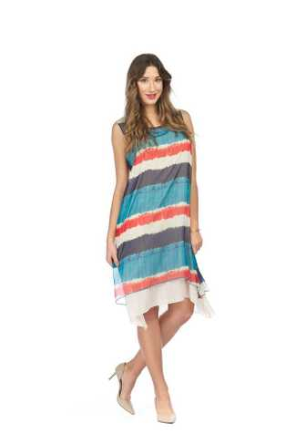 Papillon Ombre Striped Dress