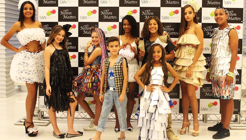 Imagem em destaque para o artigo: 15º Desfile Moda & Atitude e Projeto Moda & Conscientização