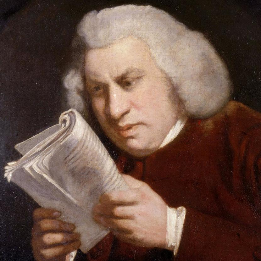 Сэмюэль Джонсон — вероятно, единственный филолог, который стал мемом