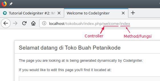 Route in Codeigniter