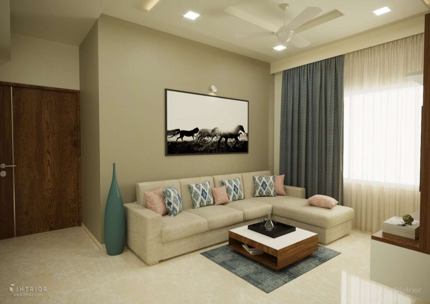 Living Room with sofa