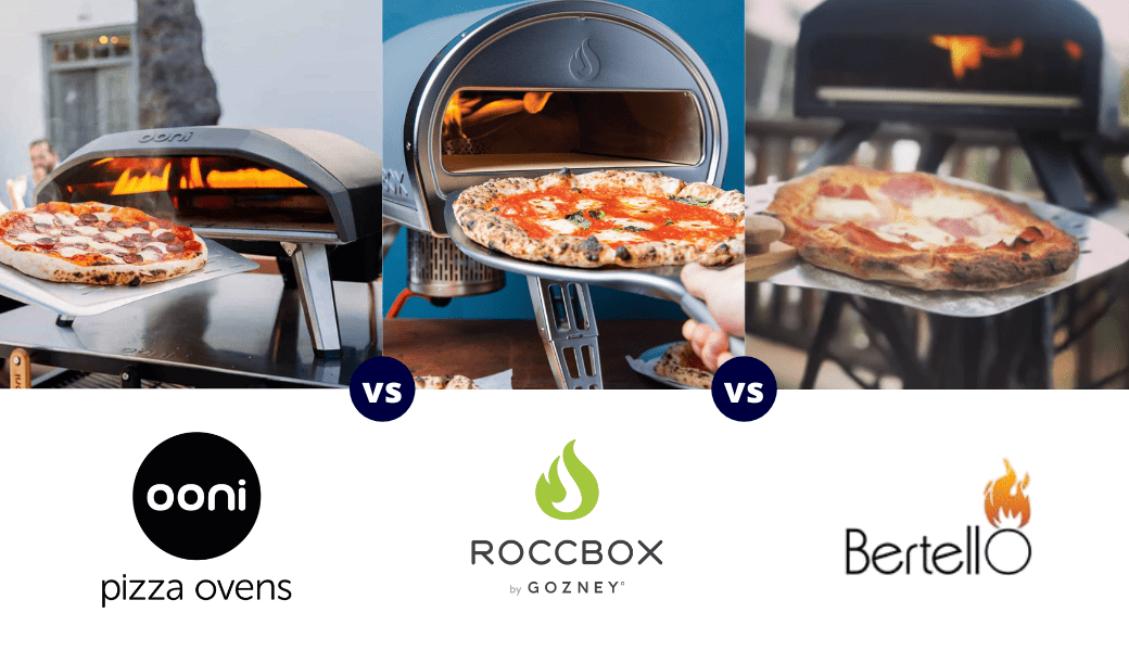 Best Outdoor Pizza Ovens Reviewed:, Ooni vs. Roccbox vs. Bertello, (2021 Review) cover image