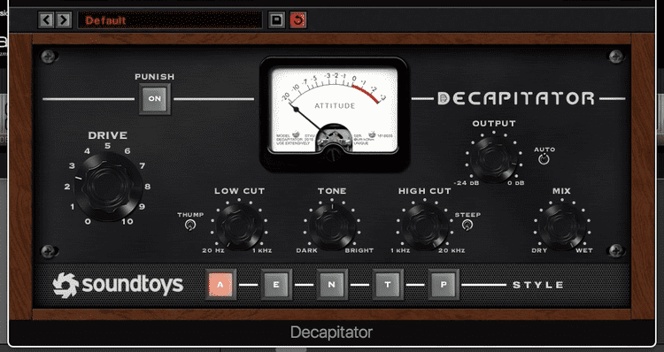 Decapitator by Soundtoys Plugin