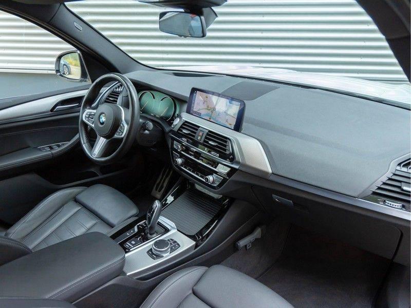 BMW X3 xDrive30i M-Sport - Trekhaak - ACC - Panorama - Head-up - Standkachel afbeelding 14