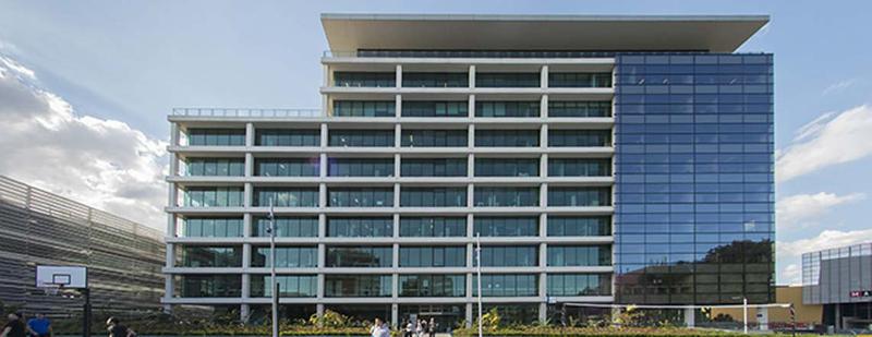 Building on the campus of Monash University