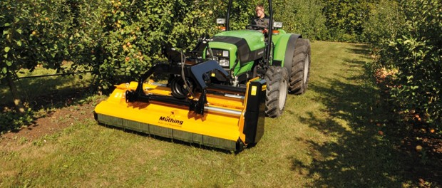 Wine and fruit-growing mulcher