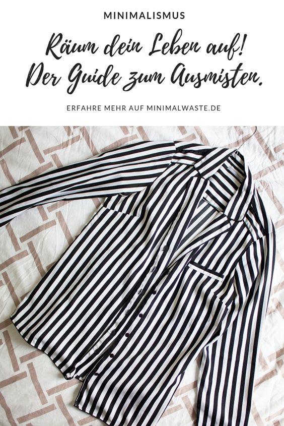 Pinterest Cover zu 'Räum dein Leben auf! Der Guide zum Ausmisten'