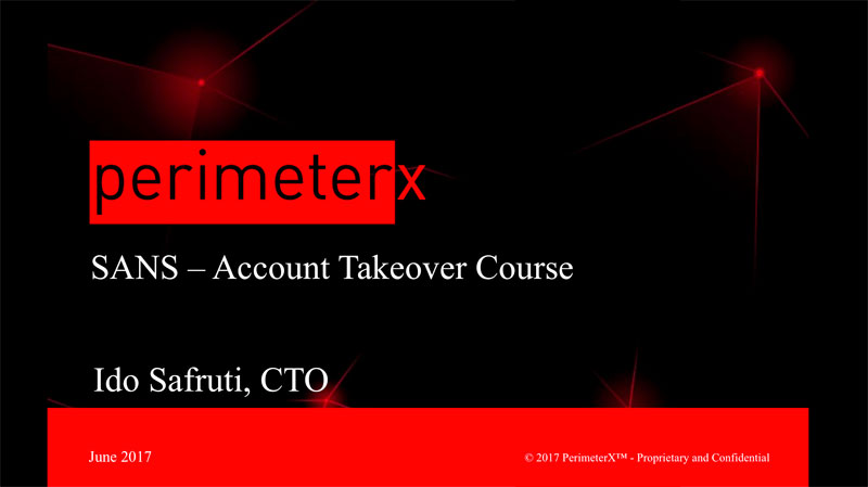 Fighting Account Takeover Webinar