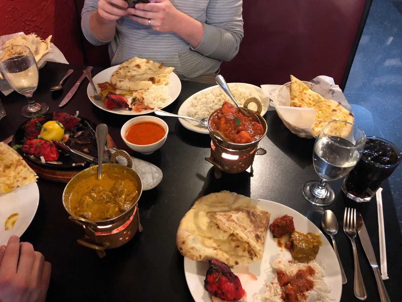 My first experience with Indian Food