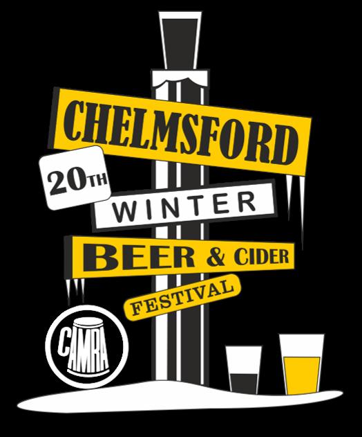 Chelmsford Winter Beer & Cider Festival 2019 logo