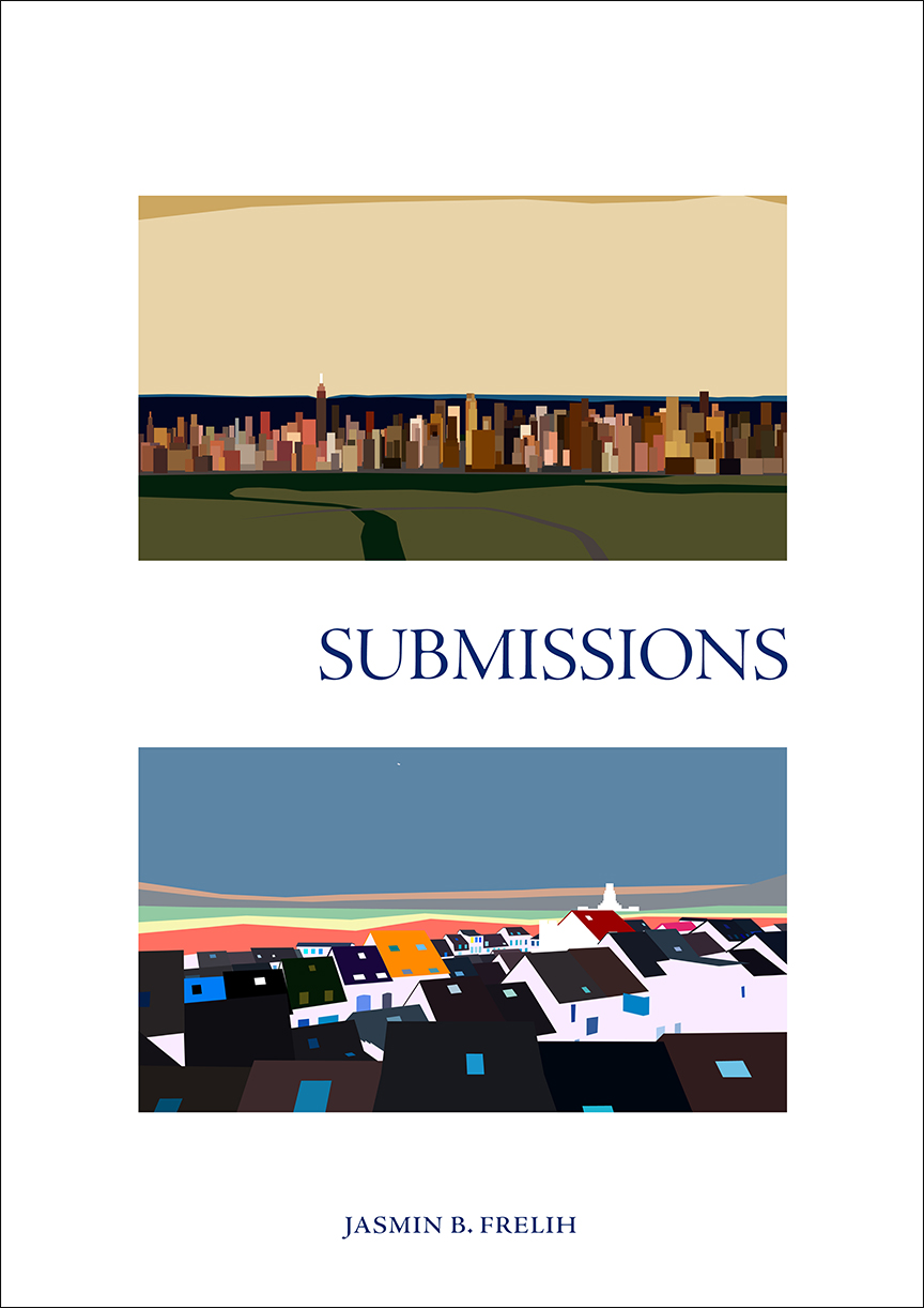 """Submissions: an account"" Book Cover"