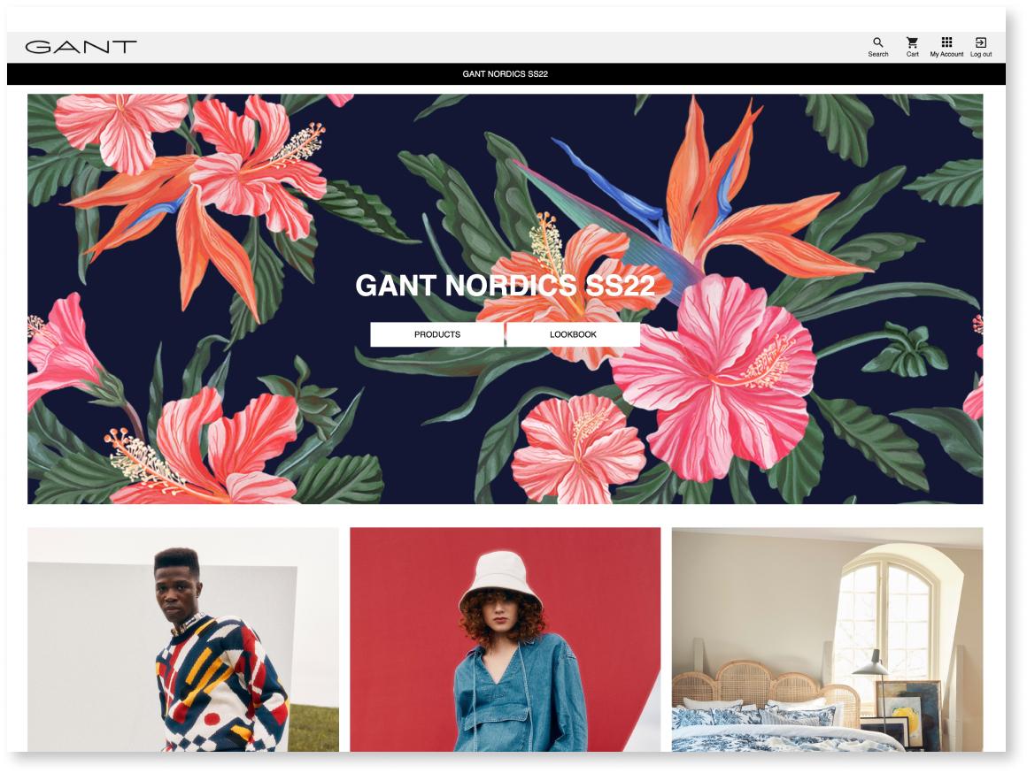Digital Lookbook for modern storytelling in the Sales App