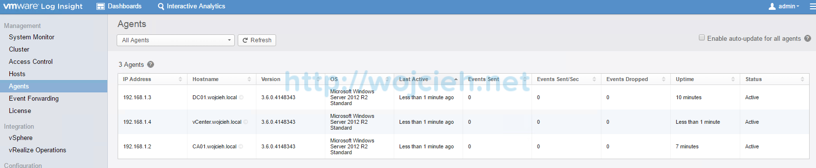 VMware vRealize Log Insight - Installation and Configuration - 26