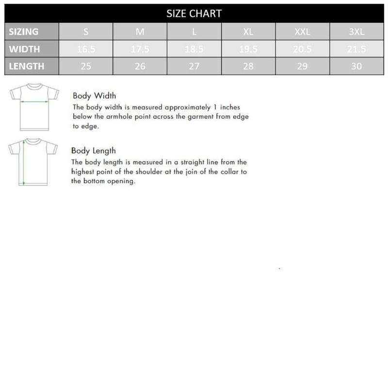 Juniors Bananya Shirt Rolled Sleeve Tee Size Chart