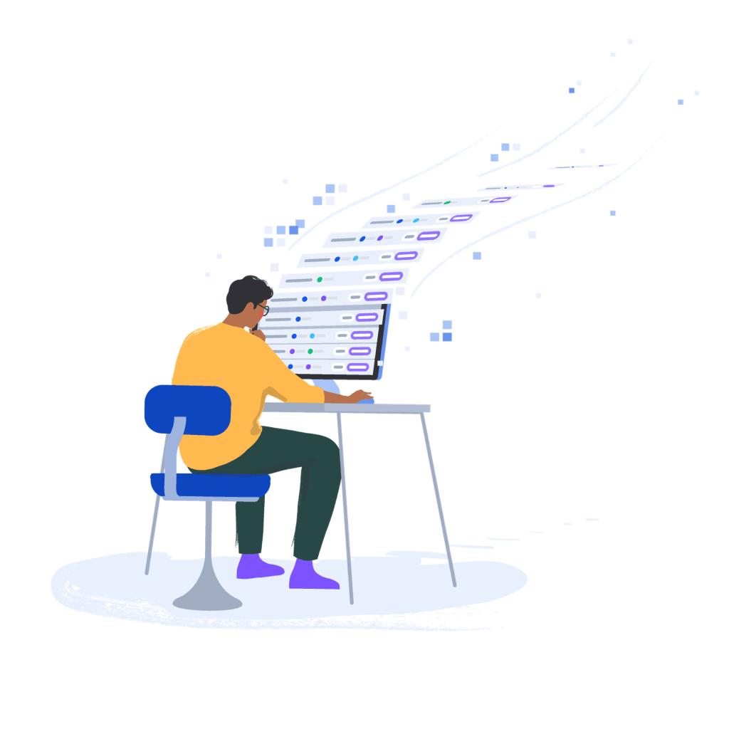 Start pushing Improvements illustration