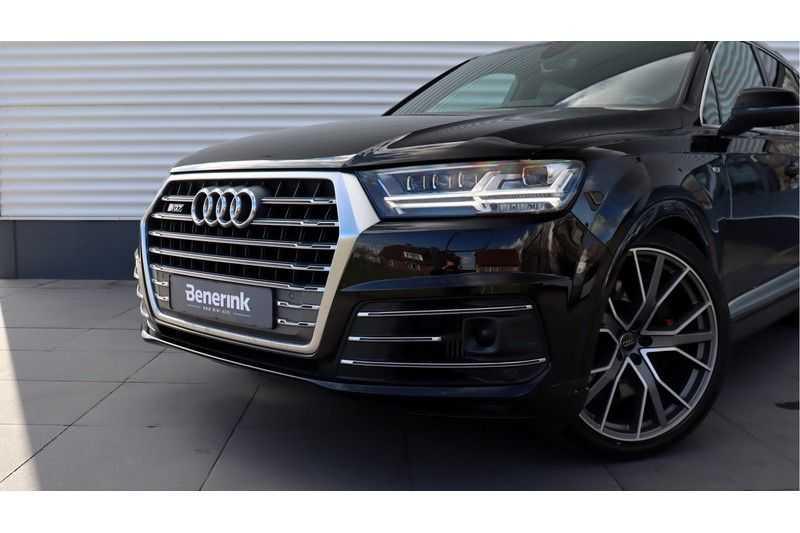 Audi Q7 4.0 TDI SQ7 quattro Pro Line + BOSE, Ruitstiksel, Carbon, Trekhaak afbeelding 24