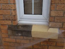 Image of cleaned stonework