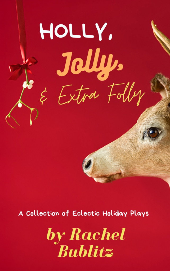 Cover of play collection Holly, Jolly, & Extra Folly from Stage Partners.