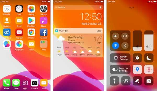 X Launcher Lite for android