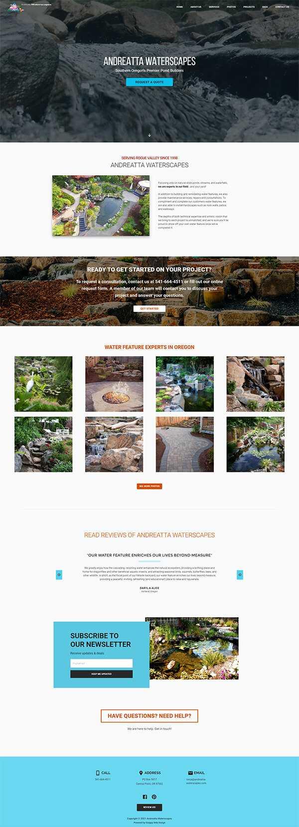 Andreatta Waterscapes .com