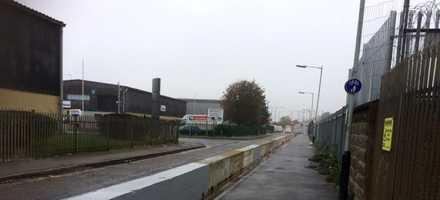 3m Concrete Barrier Install – Tottenham, London