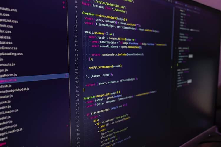 an image depicting lines of code in visual studio code