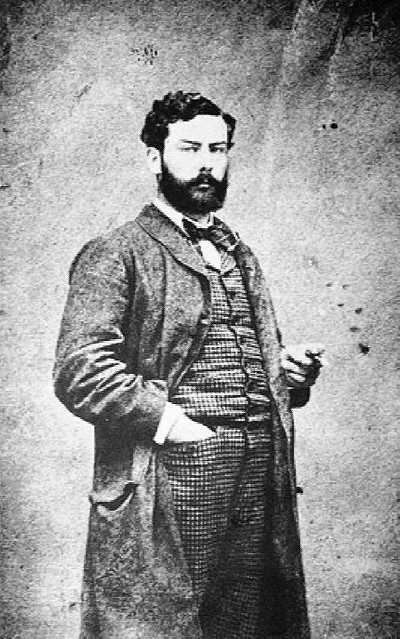A 1882 photograph of Alfred Sisley (1839–1899)
