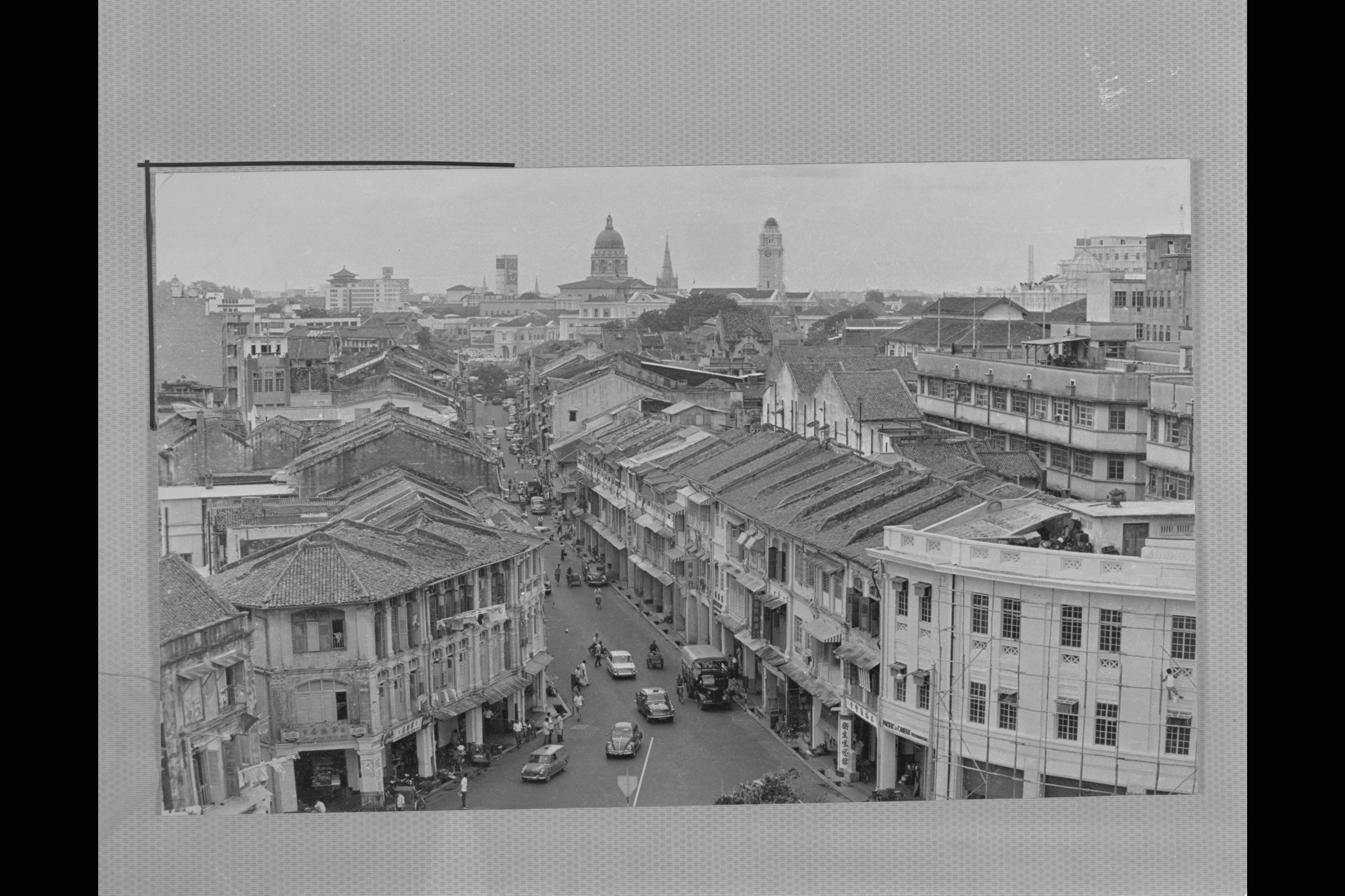 Market Street in the 1970s. Chu Sui Mang Collection, courtesy of National Archives of Singapore