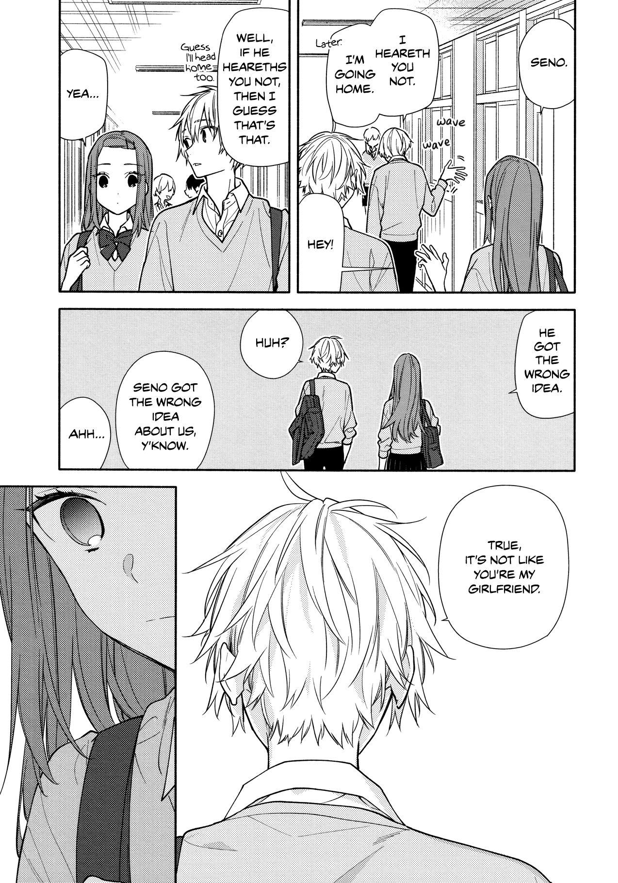 Horimiya, Chapter 121 Page 5