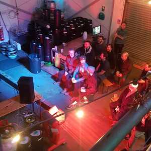 Comedy Night up and running at the brewery. Not too late to head over and get yourself some beer and have a laugh! 🎅🎅