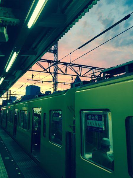 green-tokyo-train