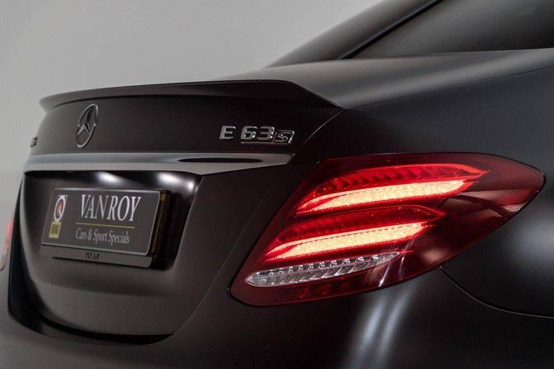 "Mercedes-Benz E-Klasse E63s AMG EDITION 1 4Matic 612pk (MAGNO MAT) Panoramadak Distronic Nightpakket Schaalstoelen Burmester Carbon ComandOnline Keyless 20"" Parktronic Pdc afbeelding 7"