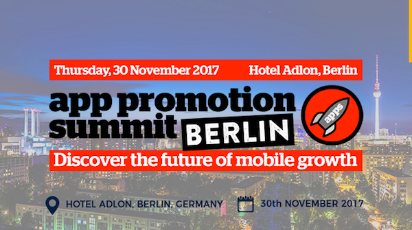 App Promotion Summit Berlin