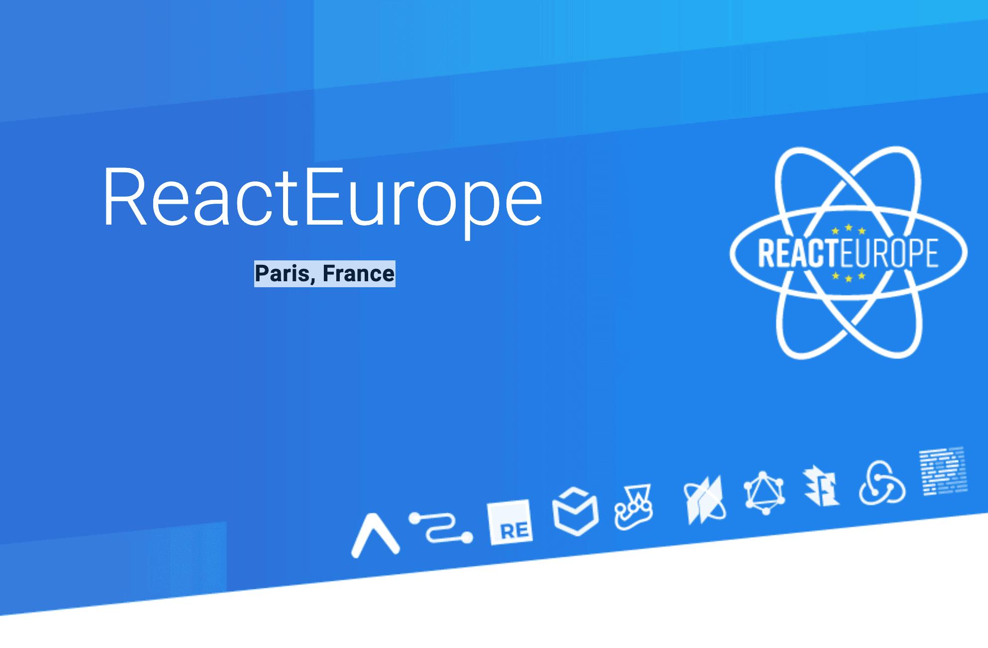 React Europe 2019