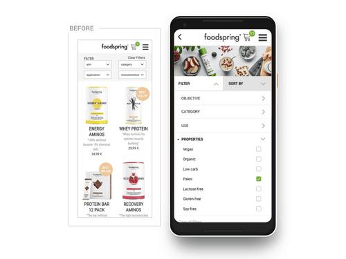 Foodspring | Filters