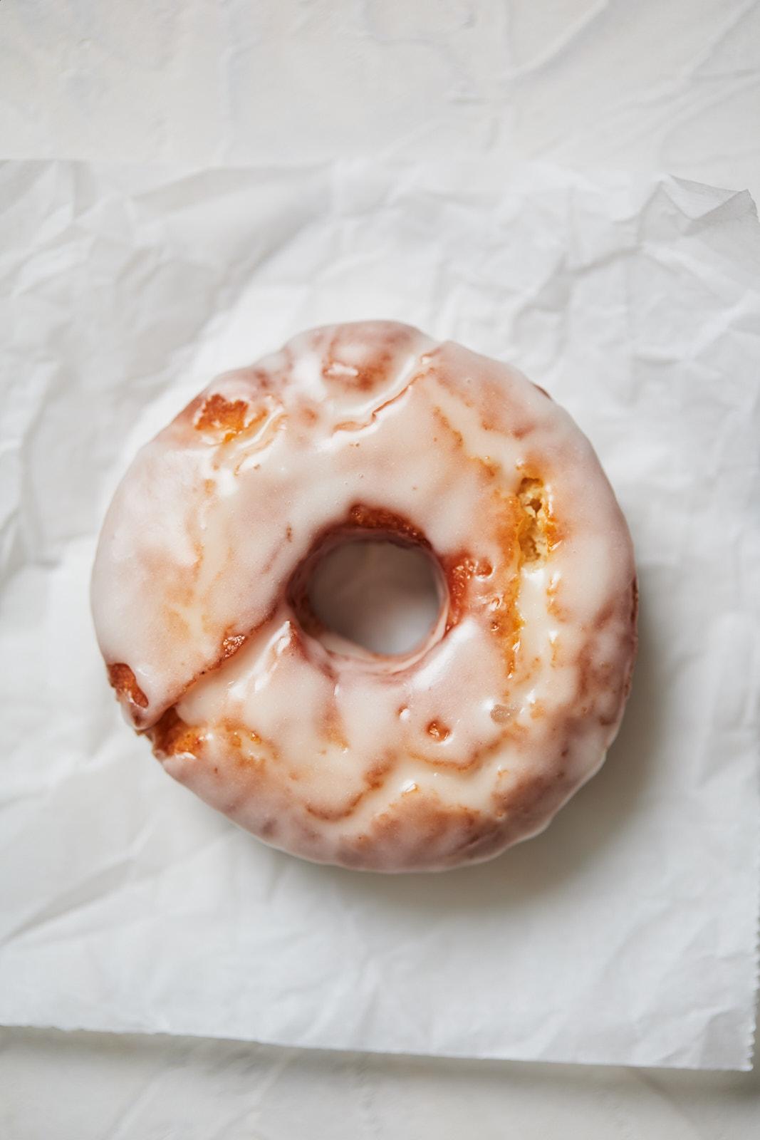 Homemade Sour Cream Glazed Doughnuts