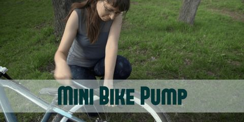 A well-built and reliable bike pump that takes very little space.